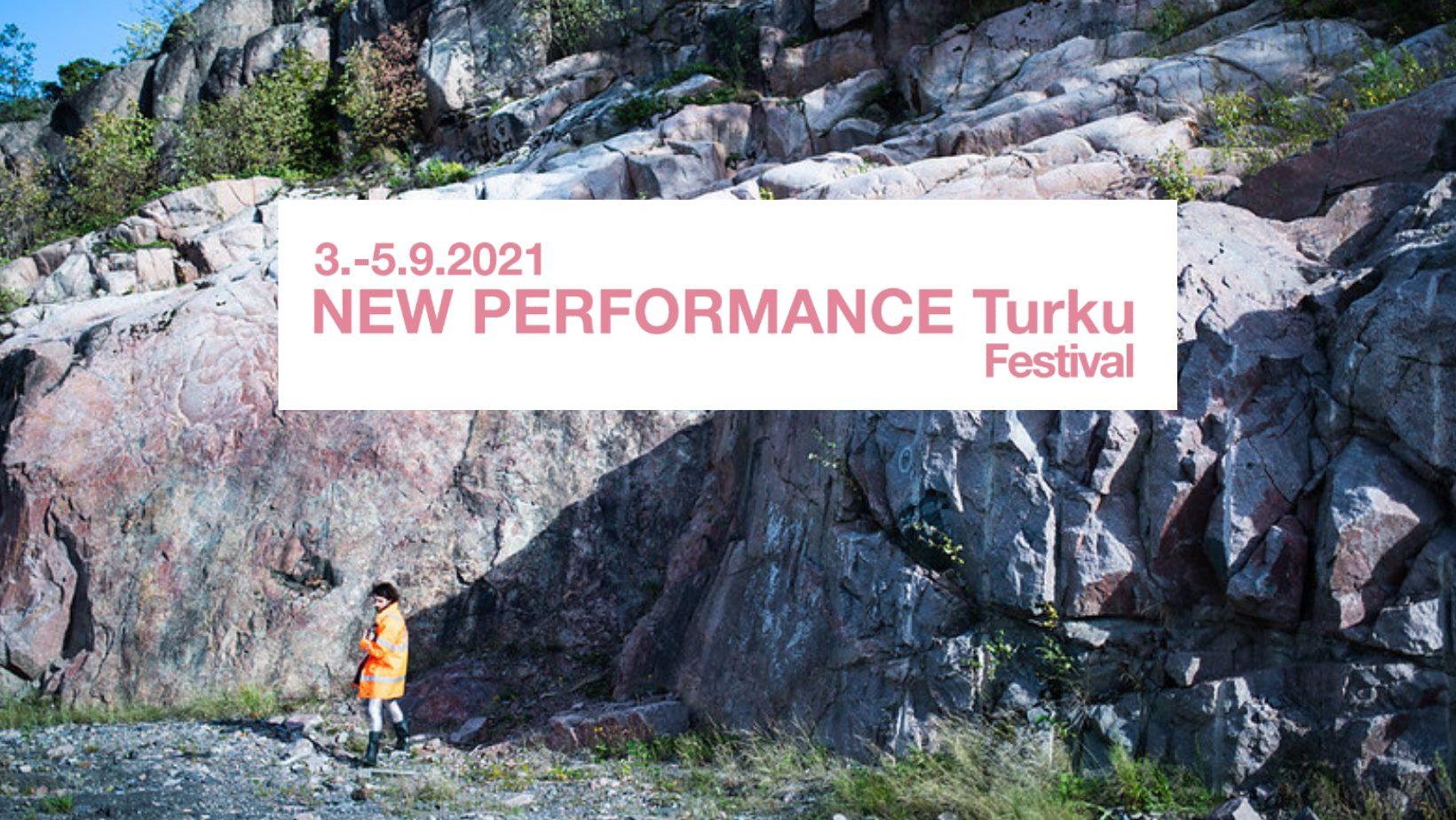New performance turku festivaalin banneri
